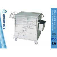 Wholesale All Drawers Design Hospital Medical Trolleys Anesthesia Trolley Medical Instrument from china suppliers