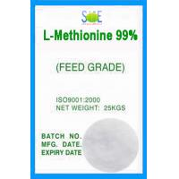 Wholesale White L-Methionine Powder Animal Feed Grade 99% Pure Amino Acids SAA-METL99 from china suppliers