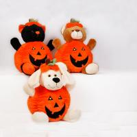Wholesale Orange Halloween Pumpkin Stuffed Plush Toys For Promotion, Soft Toys from china suppliers