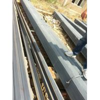 Wholesale EN10025 ST37-2 Hot Rolled Alloy Steel Angle Bar Ribbed Hollow Painting from china suppliers