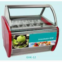 Buy cheap Automatic Defrost Popsicles Ice Cream Display Freezer With 12 Pcs 1 / 3 Pan from wholesalers