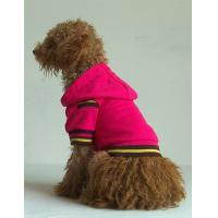 Wholesale red color dog clothes hoodies pet products from china suppliers