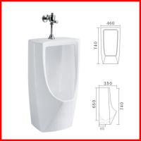 Wholesale Popular New Style Sanitary Wares Wall Mount floor Standing Urinals from china suppliers