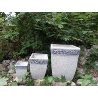 Wholesale Square Antique Outdoor Garden Planters , Large Patio Planters For Home from china suppliers