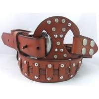 Wholesale crystal stone belts with leather buckle rhinestone from china suppliers