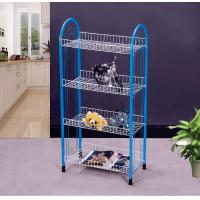 Wholesale Multi Color PE Coated Home Storage Racks for Kitchen , Simple and Modern Design from china suppliers