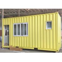 Wholesale Convenience and Beauty 20FT Container House With Window Quick Assembly from china suppliers