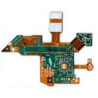 Wholesale ISO9001 Rigid Flexible PCB Design Gold Finger Finish With Aluminum Shielding from china suppliers