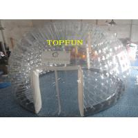 Wholesale 6m Diameter 1.0mm PVC Inflatable Clear Bubble Tent With Double Layers from china suppliers