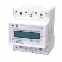 Wholesale Three Phase Three Wires Din Rail KWH Meter Infrared Electric Meter with High Accuracy from china suppliers