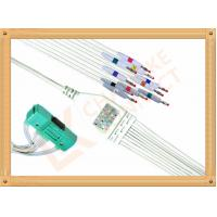Quality BR 911D Nihon Kohden Ecg Cable One Piece Ecg Cable Banana AHA for sale