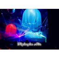 Wholesale Customized Blue Inflatable Lighting Jellyfish with Led Light for Party and Events from china suppliers