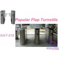 Buy cheap Popular 2D Qr Code Flap Barrier Gate With Software Sdk / Entrance Turnstile Security Gates from wholesalers