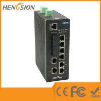 Wholesale Fiber optic port 10 gigabit network switch 4 Priority Queue web smart network switch from china suppliers