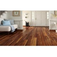 Buy cheap 3-strips Walnut laminate floor from wholesalers