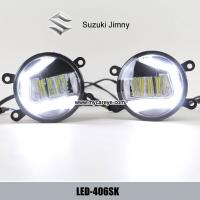 Wholesale Suzuki Jimny front fog lamp LED DRL daytime driving lights kit upgrade from china suppliers