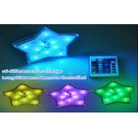 Wholesale Color Changing Battery Operated El Products Star Led Lights Remote Control from china suppliers