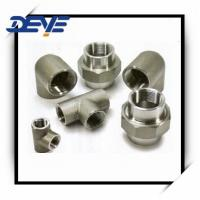 Buy cheap High Pressure FITITNGS DIN STANDARD FORGED  FITITNGS BSPT from wholesalers
