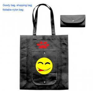 Wholesale Foldable Goody bag , folding shopping bag, foldable shopping bag manufactory from china suppliers