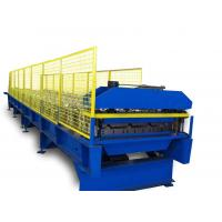 Wholesale 0.3-0.8mm Double Layer Roll Forming Machine With Automatic Control from china suppliers