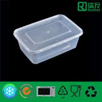 Quality Plastic Food Container Disposable Take Away Microwaveable 750ml for sale