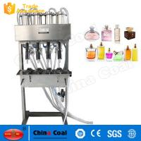 Buy cheap 2017 New Semi Automatic 4-heads Vacuum Perfume Liquid  Filling Machine from wholesalers