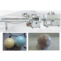 Quality Automatic bath bomb shrink wrapping machine bath ball heat shrink packing machine with 60 pcs/min for sale
