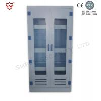 Wholesale Vertical Chemical Medical Storage Cabinet With 3 Adjustable Shelves , 250 Liter from china suppliers