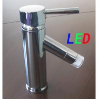 Buy cheap brass LED basin faucets (A8) from wholesalers
