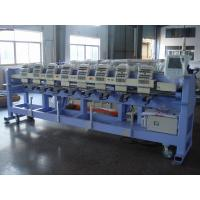 Wholesale 4 6 8 Heads 15 Needle Flat / Cap Embroidery Machine For Business from china suppliers
