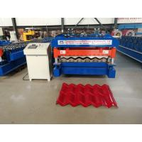 Buy cheap 5.5 kw Servo Motor Glazed Tile Roll Forming Machine High speed 4 m/min from wholesalers