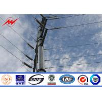 Buy cheap Tubular Steel Utility Pole For Electrical Distribution Line Project from wholesalers