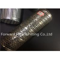 Wholesale Perforated Steel Pipe And Spiral inner locked Steel Pipe filter center tube from china suppliers