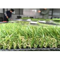 Wholesale Custom Residential Artificial Turf / Artificial Grass For Flat Roof 35mm Pile Height from china suppliers
