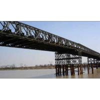 Wholesale Hot Dip Galvanized And Welding , Braking , Rolling , Shearing Structural Bailey Bridge from china suppliers
