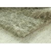 Wholesale Soft Long Pile Faux Fur Fabric , Artificial Fur Fabric 100% Polyester from china suppliers