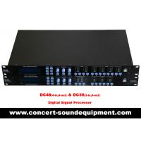 Buy cheap Digital Sound Processor / 4 input , 8 ouput Digital Signal Processor For Concert And Living Show from wholesalers
