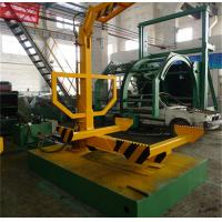 Wholesale Hydraulic Car Dismantling Equipment , Vehicle Roller Platform For Recycle Waste Cars from china suppliers