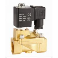 Quality 2 Way Pilot Operated Water Solenoid Valve 2 Inch Solenoid Valve NC Brass for sale