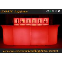 Wholesale Durable Glowing Club Pub Led Bar Counter Table , 16 Colors Changed from china suppliers