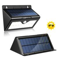 Wholesale Solar Powered 0.55W PIR Motion Sensor Outside Lights , Outdoor Led Wall Light from china suppliers