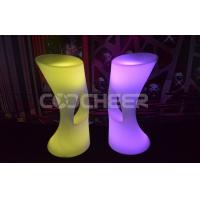 Wholesale Illuminated Led bar stool remote control recharging nightclub bar furniture from china suppliers