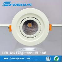 Wholesale White paint aluminum ladder LED downlight lamp 18W super bright 10W from china suppliers