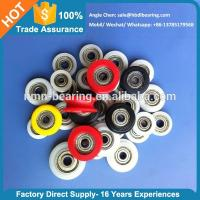 Window and Door Accessories Carbon Steel Bearing Plastic Roller