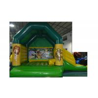 Wholesale Large Inflatable Combo 0.55 mm PVC Tarpaulin Colorful Inflatable Bouncer from china suppliers