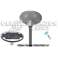 Wholesale HT-SG-UFO30,30W Smart UFO all in one integrated solar street light, 360 degree lighting solar garden light from china suppliers