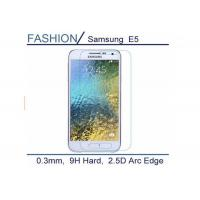 Wholesale Protective 2.5 D Tempered Glass Screen Cover , Ultra Clear Samsung E5 Screen Protector from china suppliers
