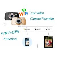 Wholesale GPS WIFI Car Video Camera Recorder With Full HD Digital screen T-Flash card from china suppliers