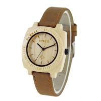 Wholesale Super Thin Wood And Leather Watches from china suppliers