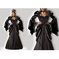 Quality Wicked Queen 1056 Female Halloween Costumes , New Queen Elsa Dress Adult Princess Costume for sale